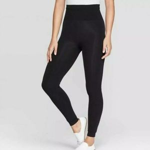 Women's Seamless High Waist Faux Fur Lined Legging